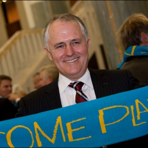 Malcolm Turnbull: Why do Anarchists love him?