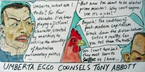 Umberta Eggo Counsels TonyAbbott