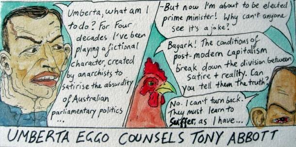 Umberta Eggo Counsels Tony Abbott