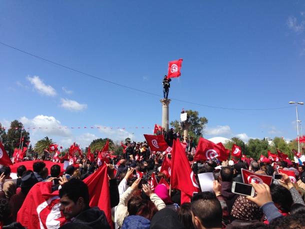 protest tunisa