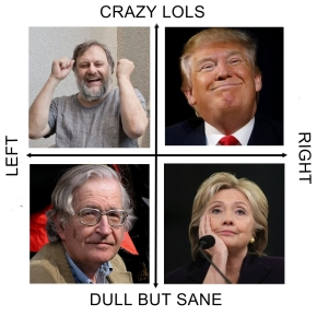 Are you on Team Trump-Žižek or Clinton-Chomsky? Take this radical leftist quiz to find out!